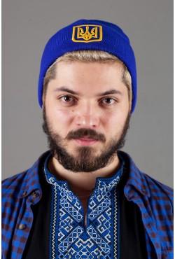 Мужская шапка Ukraine-Blue