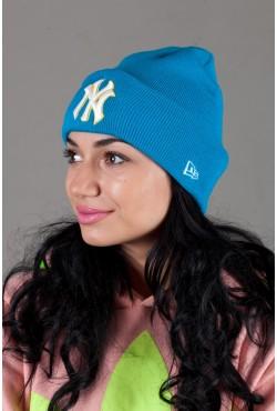 Женская шапка New-York NY2015-LightBlue