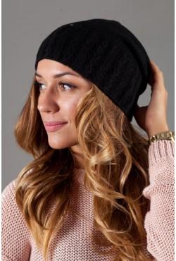 Женская трикотажная шапка W-Luxury 9194S-5