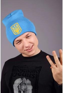 Мужская трикотажная шапка Ukraine 3