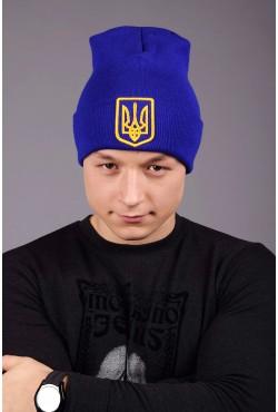 Мужская трикотажная шапка Ukraine 4