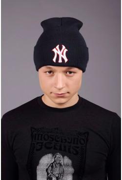 Мужская шапка New York Dark Blue