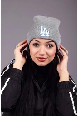 Женская шапка Los Angeles Grey