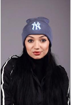 Женская шапка New York Blue