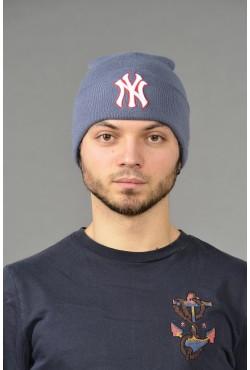 Мужская шапка NY blue-r-M