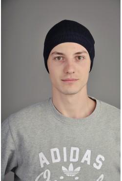 Мужская трикотажная шапка  2