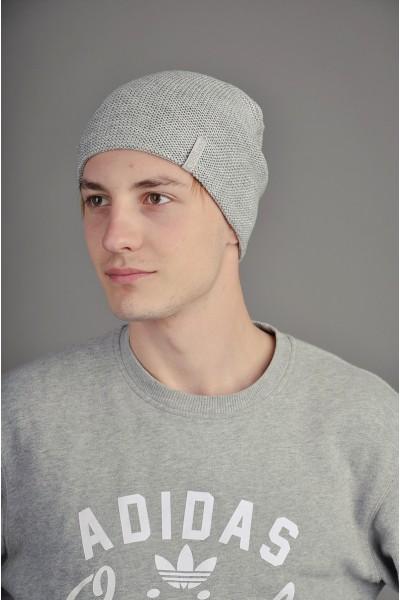 Мужская трикотажная шапка  003-2-m