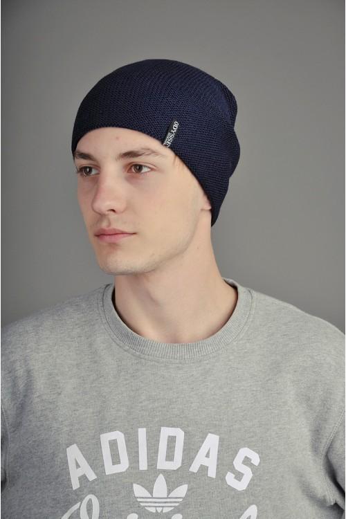 Мужская трикотажная шапка  012-3-m