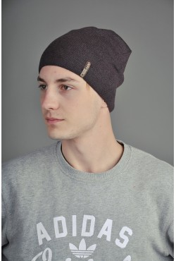 Мужская трикотажная шапка  154-m