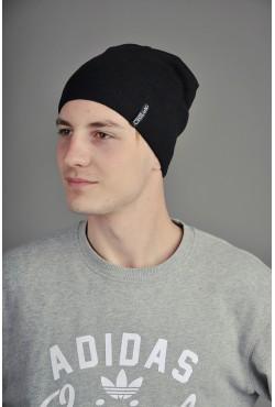 Мужская трикотажная шапка  128-6-m