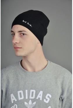 Мужская шапка Paul Smith черная