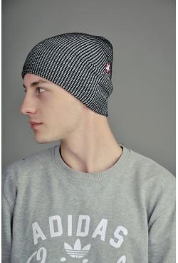 Мужская шапка SQWEAR Black/Grey