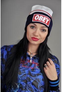 Женская шапка Obey WRB