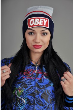 Женская шапка Obey GRB