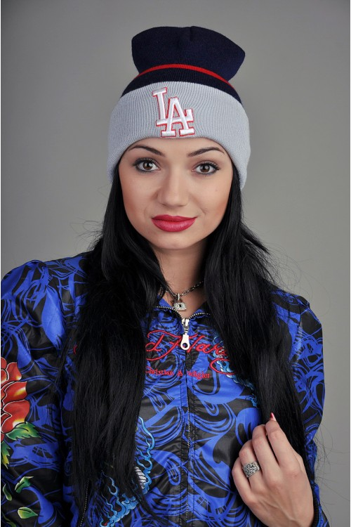 Женская шапка Los Angeles BRG