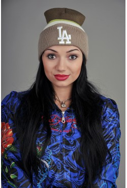 Женская шапка Los Angeles KGreenK