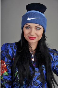 Женская спортивная шапка Nike DarkBBLightB
