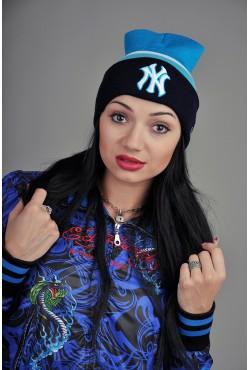 Женская шапка New York BWB