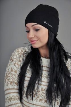 Женская шапка Paul Smith черная