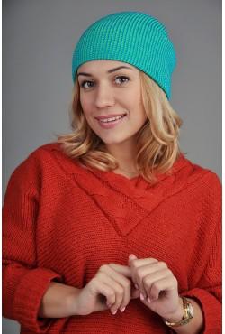 Женская шапка SQWEAR Blue/Green