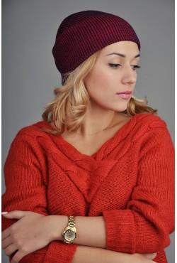 Женская шапка SQWEAR Blue/Red