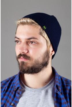 Мужская трикотажная шапка Shado69-Blue_G