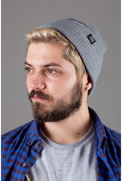 Мужская трикотажная шапка Shado65-Grey