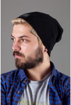 Мужская трикотажная шапка Philipp Plein PP-Black