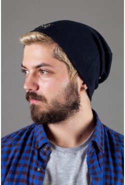 Мужская трикотажная шапка Philipp Plein PP-Blue
