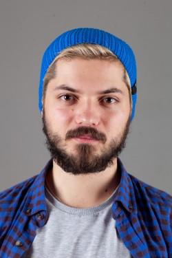 Мужская спортивная шапка Nike Light - Blue