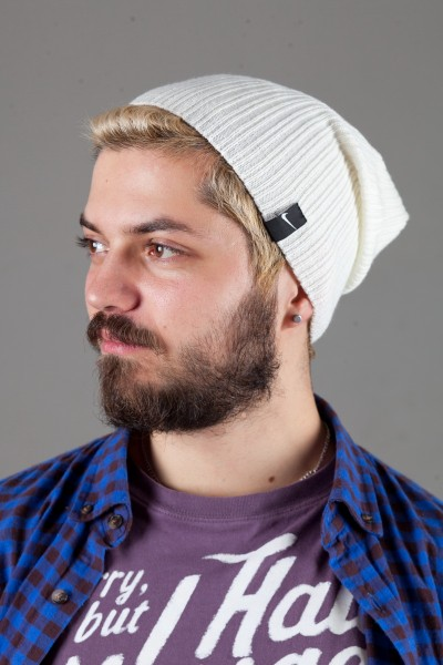 Мужская спортивная шапка Nike Light - Milk