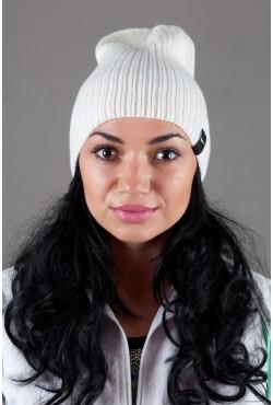 Женская спортивная шапка Nike Light - Milk
