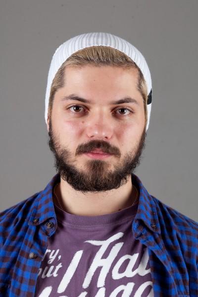 Мужская спортивная шапка Nike Light - White