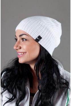 Женская спортивная шапка Nike Light - White