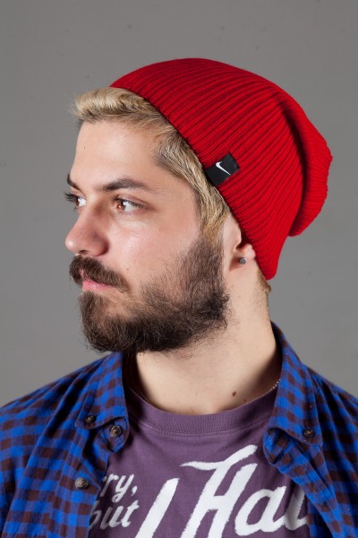 Мужская спортивная шапка Nike Light - Red