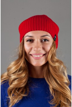 Женская спортивная шапка Nike Light - Red
