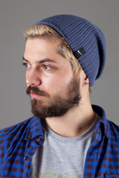 Мужская спортивная шапка Nike Light - D_Denim