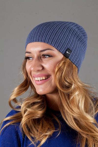 Женская спортивная шапка Nike Light - D_Denim