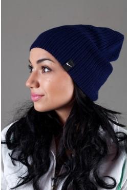 Женская спортивная шапка Nike Light - D_Blue