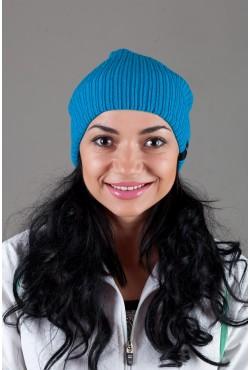 Женская спортивная шапка Nike Light - L_Blue
