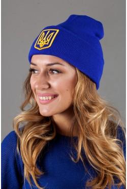 Женская шапка Ukraine-Blue