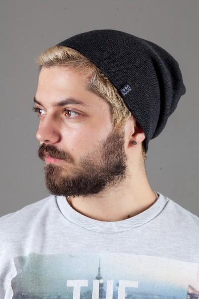Мужская трикотажная шапка Ozzi18-Dark Grey