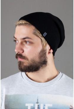 Мужская трикотажная шапка Ozzi18-Black