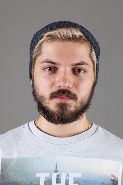 Мужская трикотажная шапка Ozzi32-Dark Grey