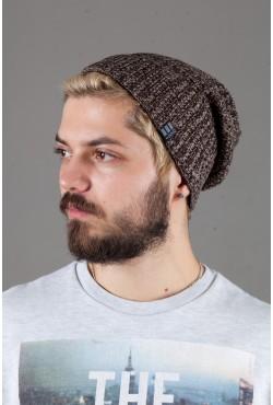 Мужская трикотажная шапка Ozzi32elange Brown