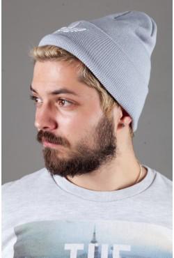 Мужская спортивная шапка Adidas2015-LightGrey