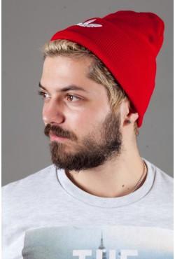 Мужская спортивная шапка Adidas2015-DarkRed
