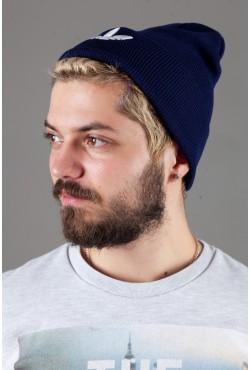 Мужская спортивная шапка Adidas2015-DarkBlue