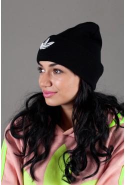 Женская спортивная шапка Adidas2015-Black