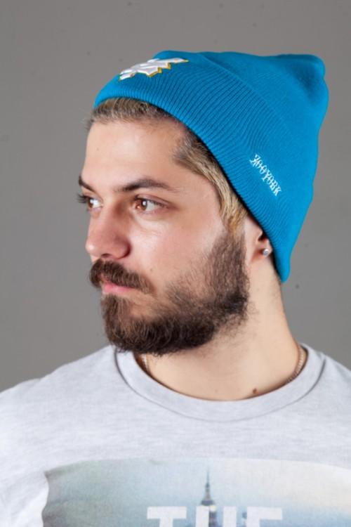 Мужская шапка Zoo-York ZY2015-LightBlue